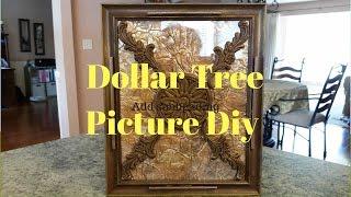 Dollar Tree Tuscan Picture Diy