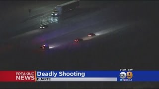 CHP Chases Reckless Driving Suspect On Several Freeways