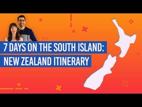 7 Days on the South Island: New Zealand Road Trip Itinerary
