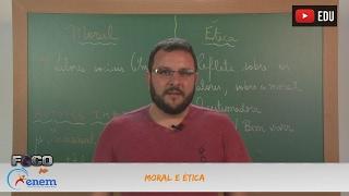 Videoaulas Poliedro | Enem | Moral e Ética