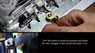 Adjusting tape cartridge for T-Rex Replicator