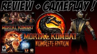 Review + Gameplay - Mortal Kombat Komplete Edition PS3