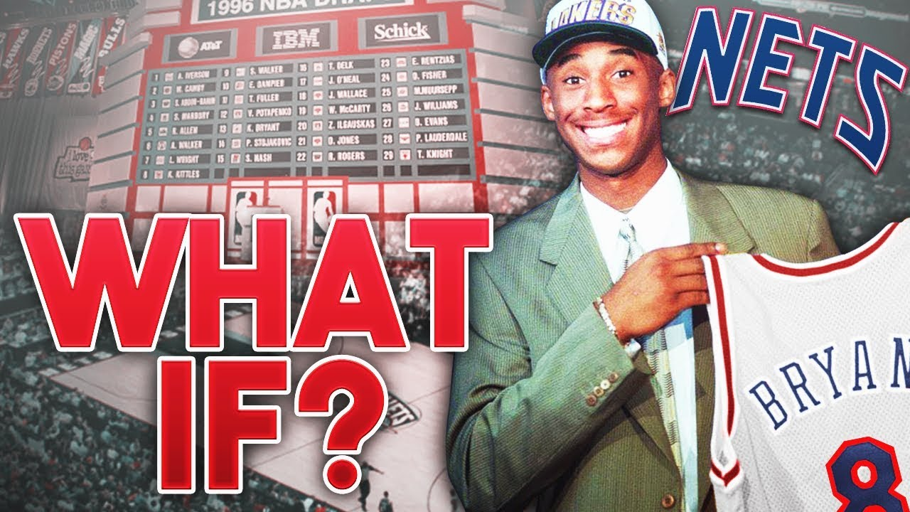 What If KOBE BRYANT was Drafted By The NEW JERSEY NETS..  - YouTube e0f215b27