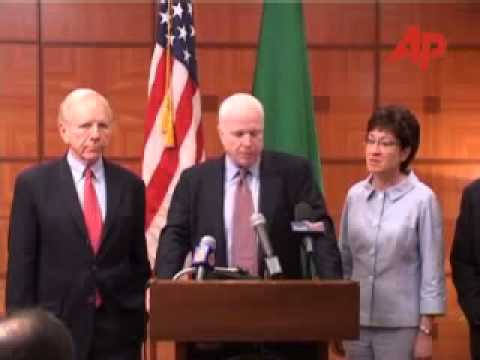 Leaked cable: John McCain pushed to arm Qaddafi - Gaddfi