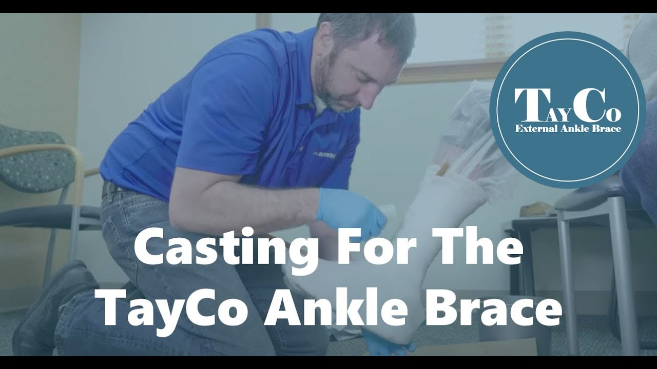 Custom TayCo External Ankle Brace