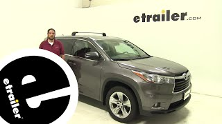 Thule Roof Rack Review - 2014 Toyota Highlander