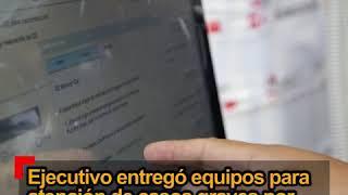 Equipos para atención médica de pacientes grave por COVID-19 fueron entregados al Gore Huancavelica