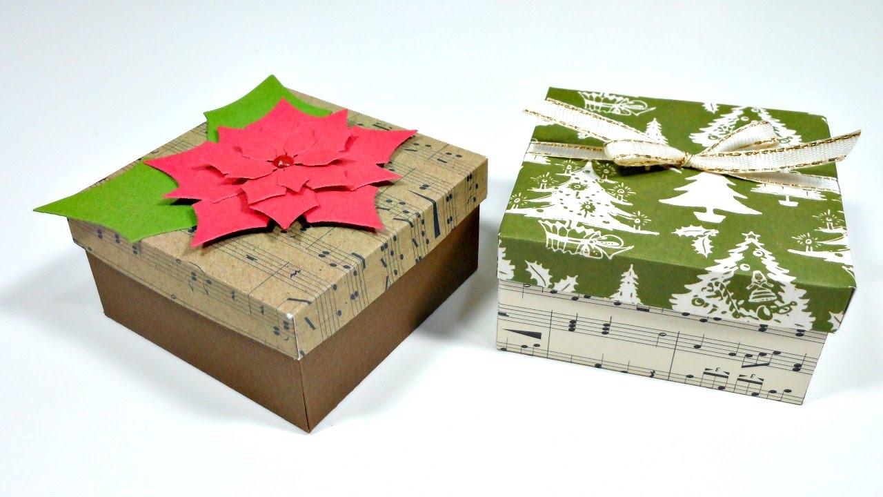 Ideas para envolver regalos 3 caja peque a con tapa muy for Roba usata regalo