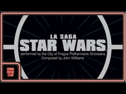 The Star Wars Saga - All the best music themes by the City of Prague Philharmonic Orchestra