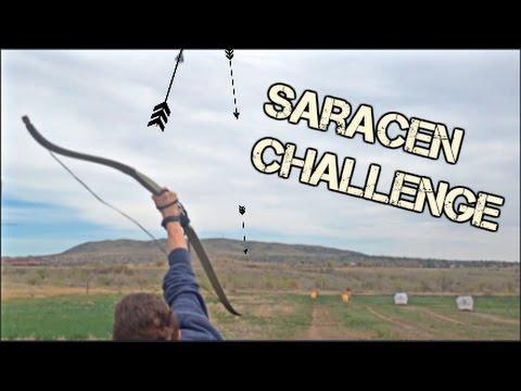 Saracen Archery Challenge --- TheElvenArcher with Golden Archery