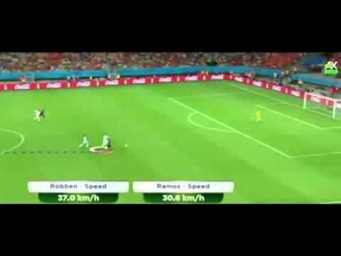 Robben Sprint Tercepat 37kmh