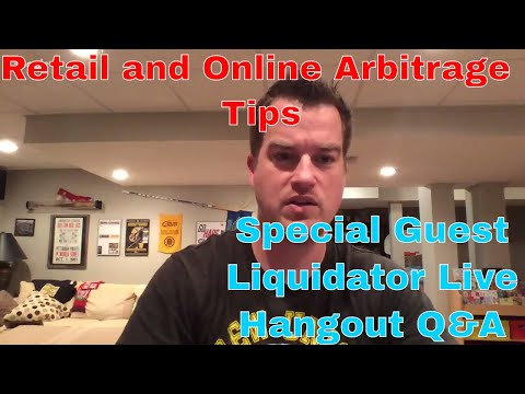 Retail Arbitrage Tips with Scott on the Liquidator Live Hangout and  Items to Look For Q&A
