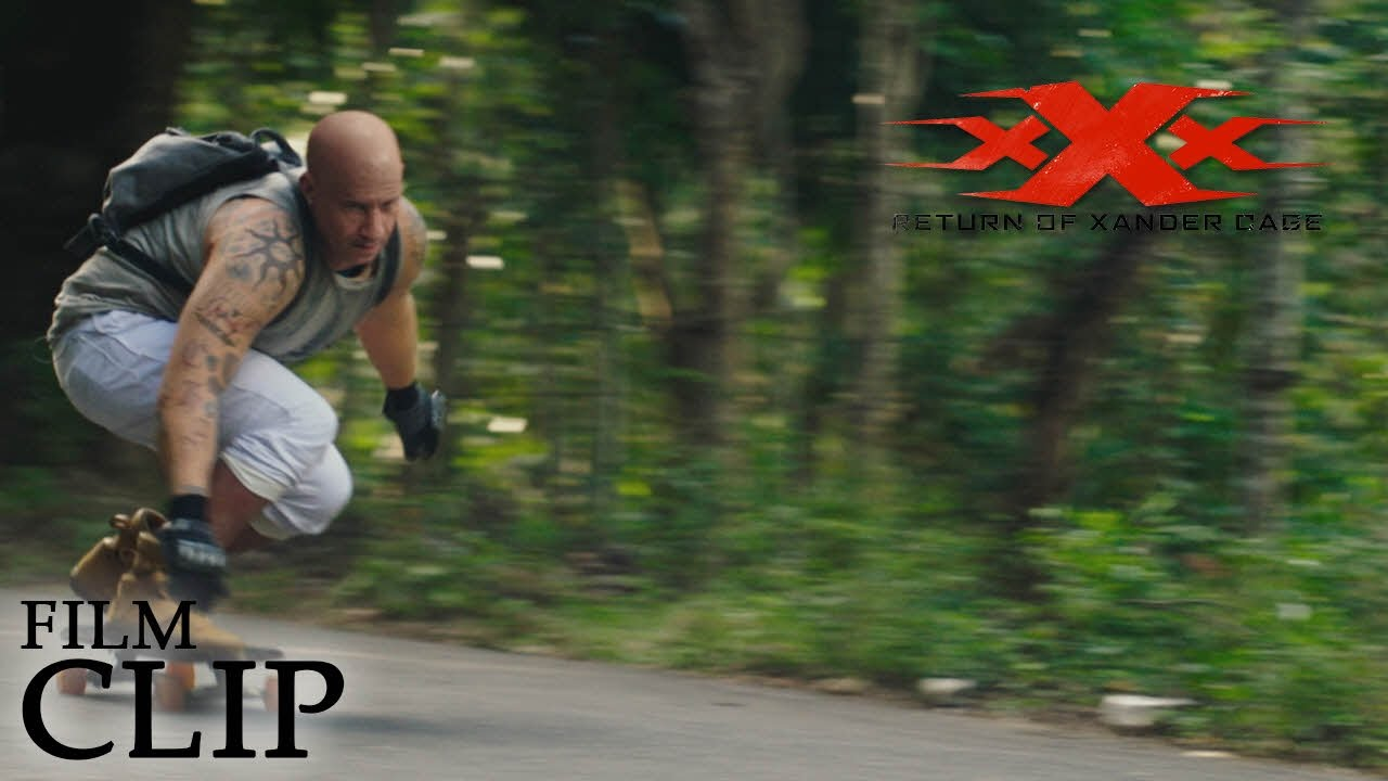 xXx: RETURN OF XANDER CAGE | Skate Board | Official Film Clip