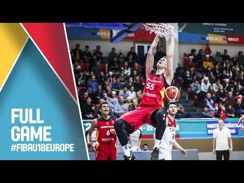 Turkey v Germany - Full Game - FIBA U18 European Championship 2016