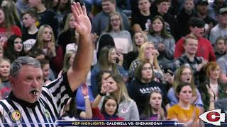 Caldwell vs Shenandoah - Boys Basketball - KGP Highlights