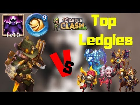 Hot Shot | 10/10 Wicked Armor | 9/9 Sacred Light | Vs Top Legends | Castle Clash