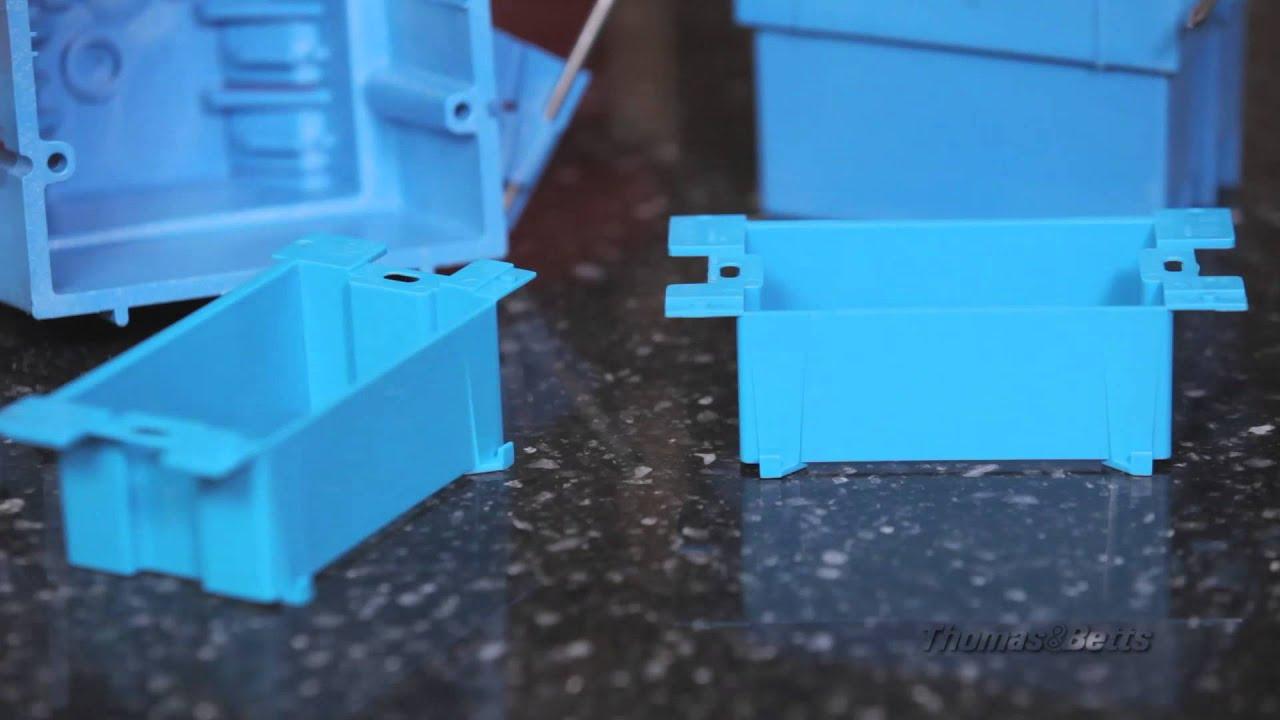 Carlon® Non-Metallic Electrical Box Extender - YouTube