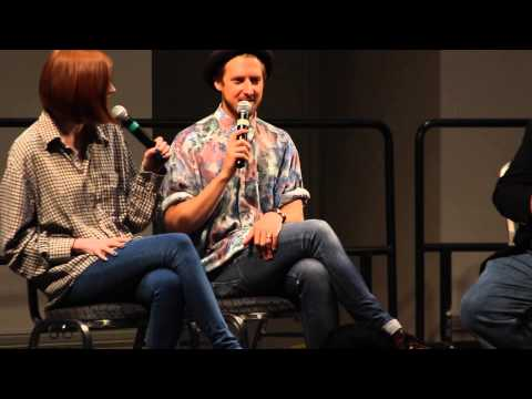 Space City Comic Con: Arthur Darvill and Karen Gillan Q&A