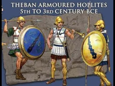 unboxing Theban Armoured Hoplites 5th to 3rd Century BCE
