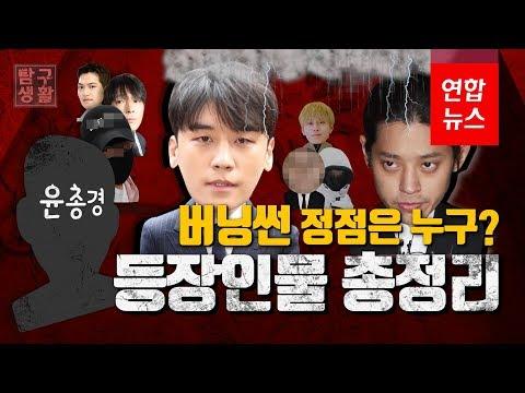 [탐구생활] '경찰총장'은 윤총경? 버닝썬 등장인물 총정리 / 연합뉴스 (Yonhapnews)