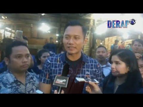 SABA BANTEN, AHY KUNJUNGI PASAR INDUK TANAH TINGGI - DERAP Tv