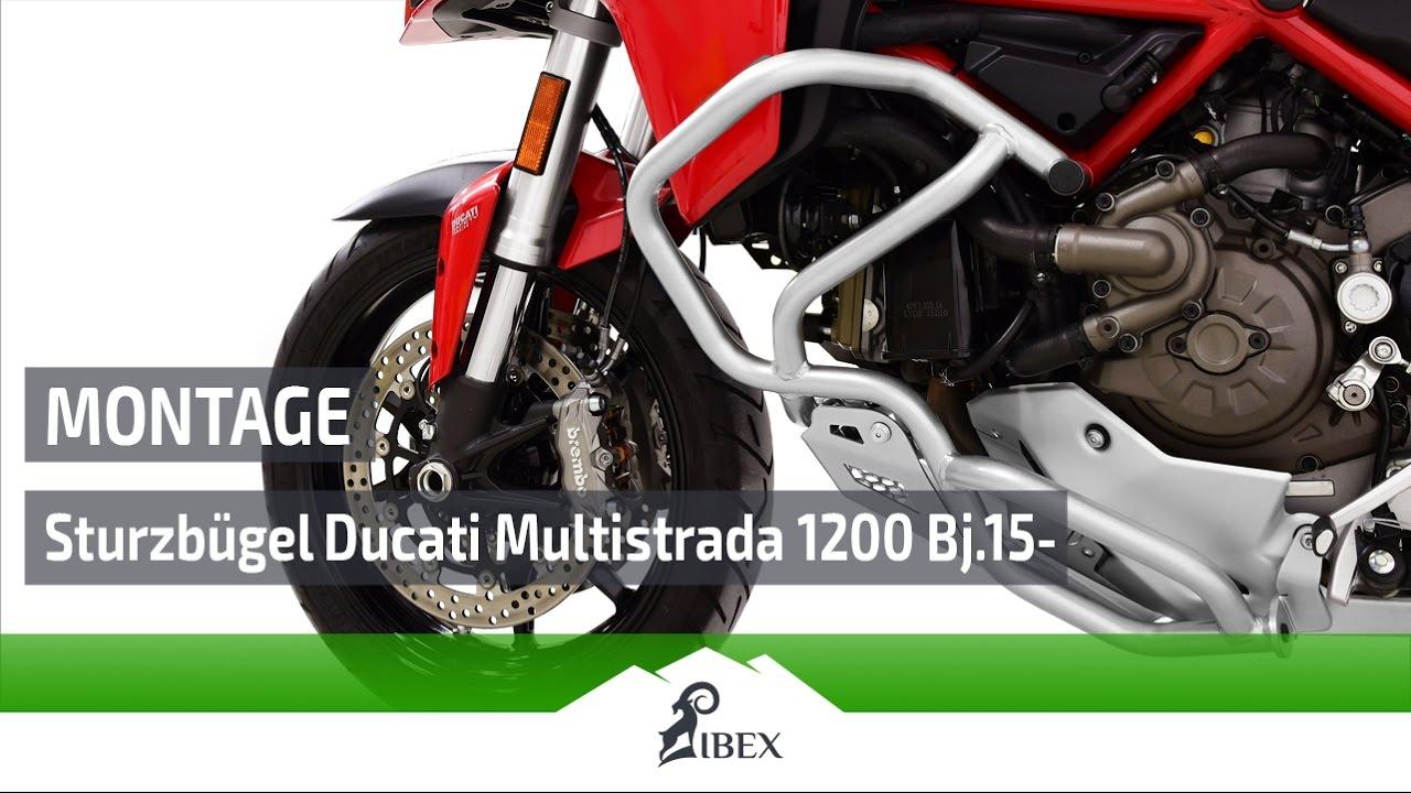 Ibex Sturzbugel Ducati Multistrada 1200 Bj 15 Montageanleitung