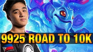 THE FIRST 10K? ABED 9925 MMR Plays Puck - Dota 2