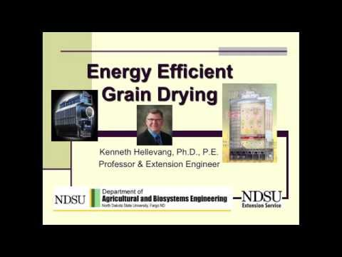 Energy Efficient Grain Drying