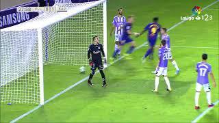 ... real valladolid vs barcelona b [1-2][liga 123 | jornada 1][19/08/20...