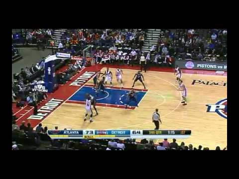 NBA CIRCLE - Atlanta Hawks Vs Detroit Pistons Highlights 22 Nov. 2013 www.nbacircle.com
