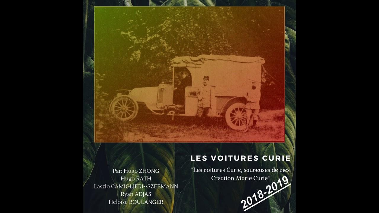 Les voitures curie - Les Hugos, Ryan, Heloïse et Laszlo