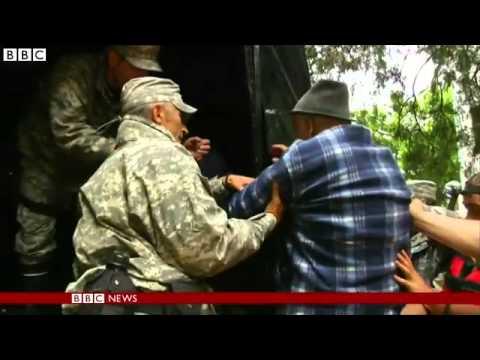 BBC News   Balkan floods  Fears of new surge on Serbia's River Sava