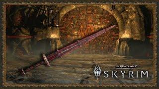 TES 5: Skyrim #Dragonborn - Клинок Бладскал открываем дверь