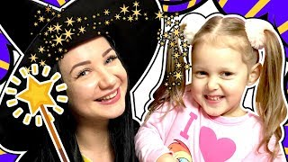 MAGIC The Wizard flew to us Mysterious Coloring Tricks for children Kids Video