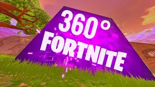 FORTNITE 360 VR Box Video Huge Cube Box moving Best (Google Cardboard)