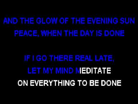 NORAH JONES - PEACE - Karaoke