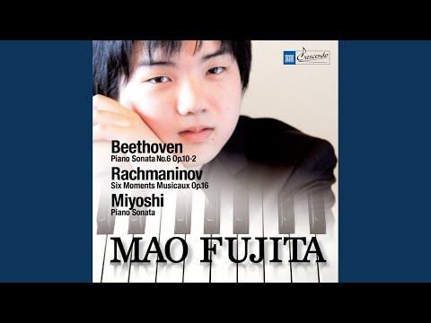 Moments Musicaux, Op. 16: No. 5 In D-Flat Major: Adagio Sostenuto