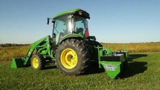 John Deere Frontier Equipment: Notes From The Field - How to aerate, fertilize and overseed