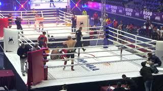 93+kg: Alroy Rodrigues (India) vs. Athanasios Barkas (Greece). 2017 World MMA Championships