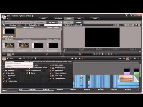 Programmoberfläche und Symbole anpassen in Pinnacle Studio 16 und 17 Video 15 von 114