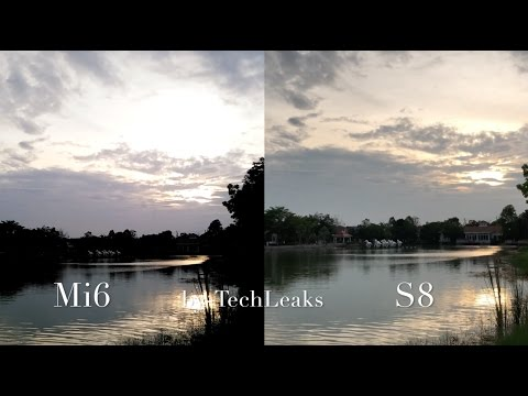 SAMSUNG GALAXY S8 vs XIAOMI MI6 LOW LIGHT VIDEO REVIEW