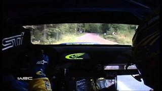 Rally Finland 2004 SS Ouninpohja Stage Record Petter Solberg/Phil Mills Subaru Impreza WRC on-board