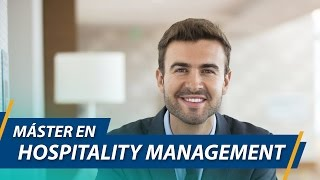 Master in Hospitality Management - UCAM