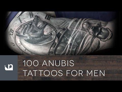 100 Anubis Tattoos For Men