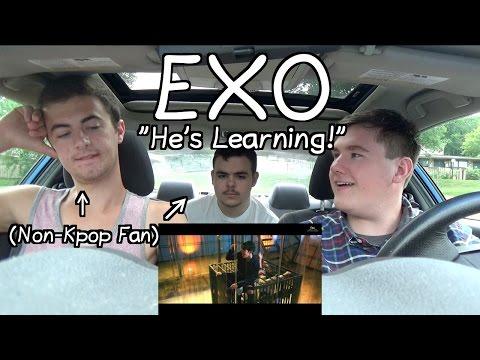 """Exo - Lotto MV Reaction (Non-Kpop Fan) """"He's Learning!"""""""