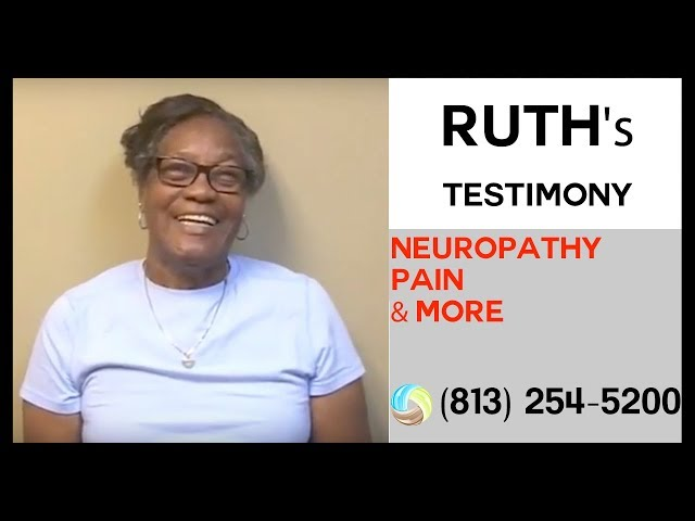Ruth's Success Story against Neuropathy Pain