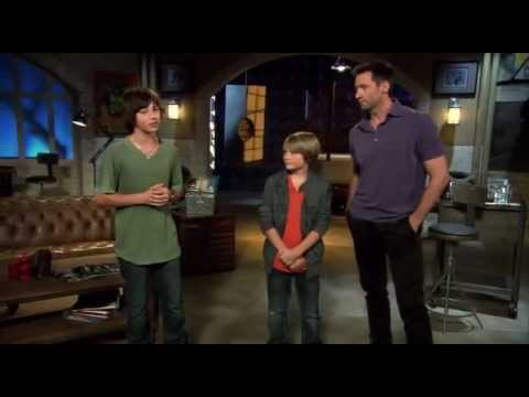 Leo Howard interviews Dakota Goyo & Hugh Jackman about