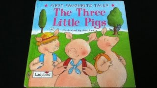 "Childrens book read aloud. ""THE THREE LITTLE PIGS"""