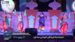 مصر العربية | استعراضات فرقة الغربية للفنون الشعبية تزين ساحة الأوبرا