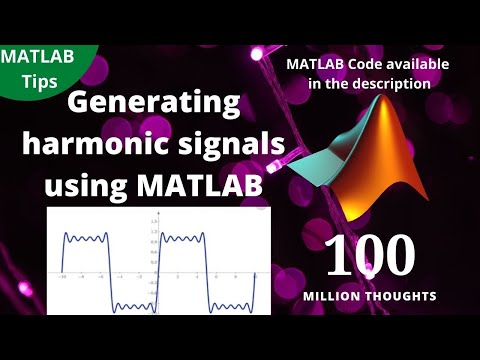 Generating harmonic signal using matlab
